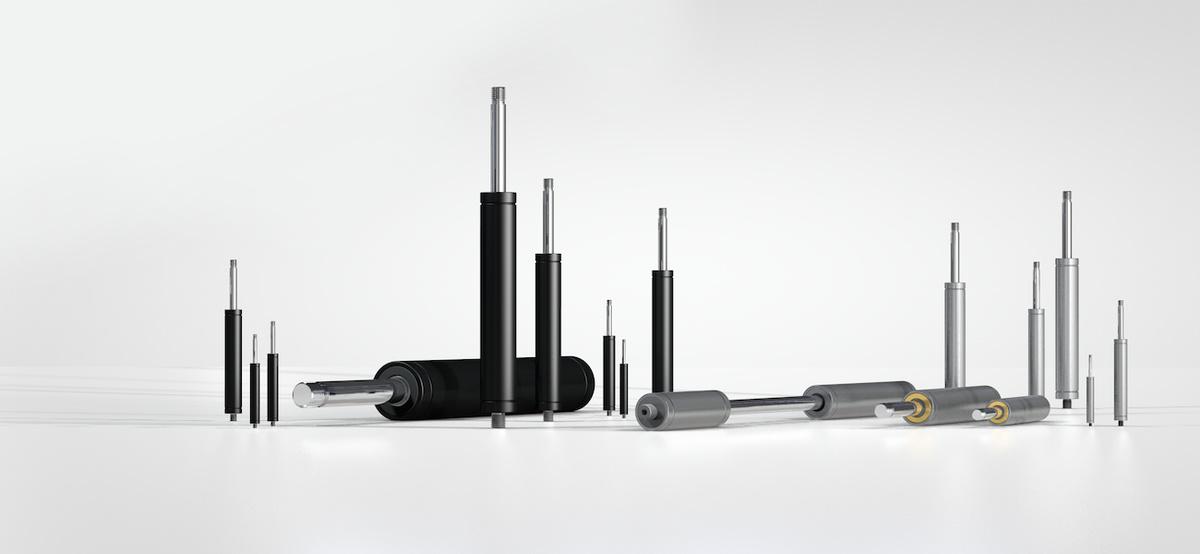 Industrial Gas Springs – Push Type