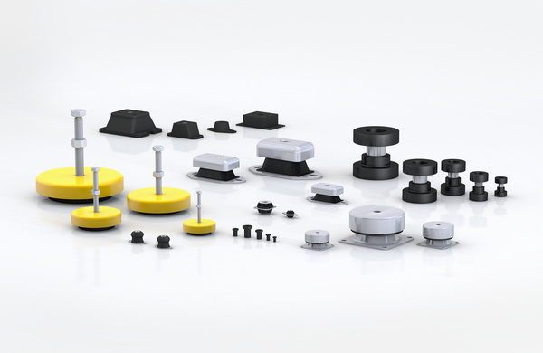 Rubber-Metal Isolators